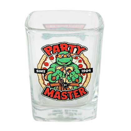 Teenage Mutant Ninja Turtles Square Party Master Shot Glass