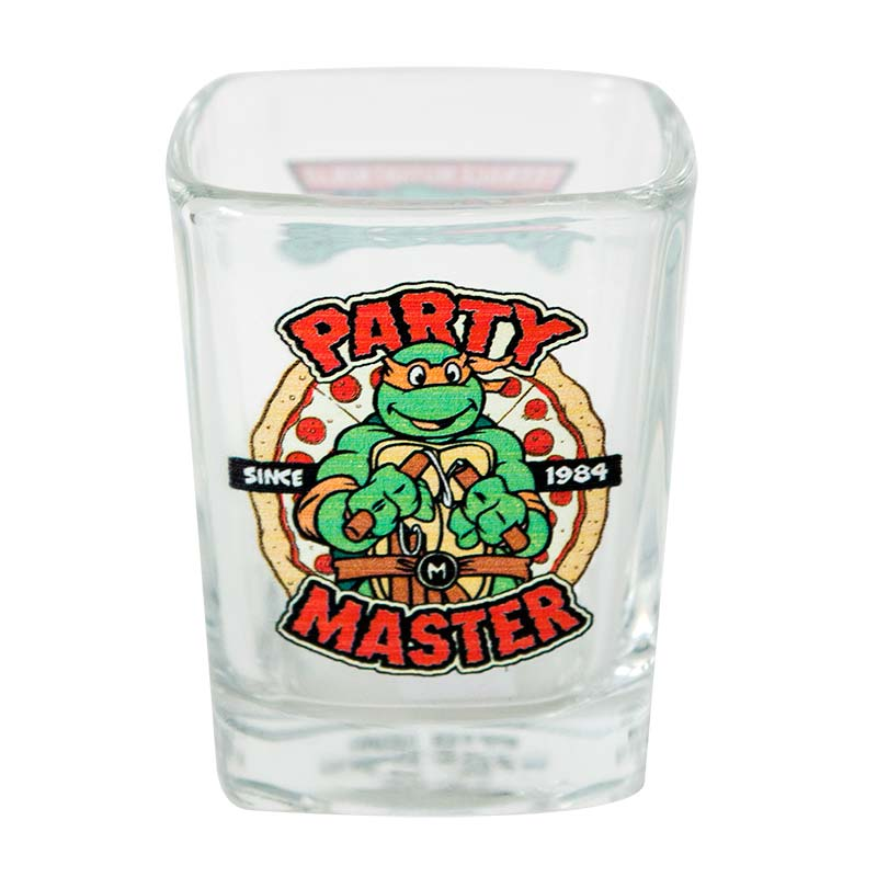 Teenage Mutant Ninja Turtles Party Master Square Shot Glass