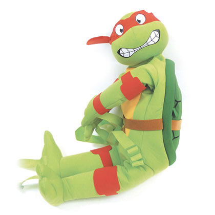 Teenage Mutant Ninja Turtles Raphael Stuffed Animal Backpack