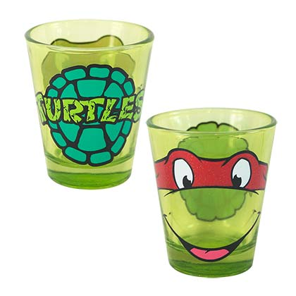 Teenage Mutant Ninja Turtle Green Raphael Shot Glass