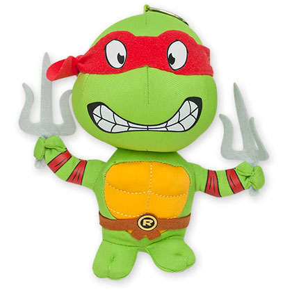 Teenage Mutant Ninja Turtles Raph Plush Keychain