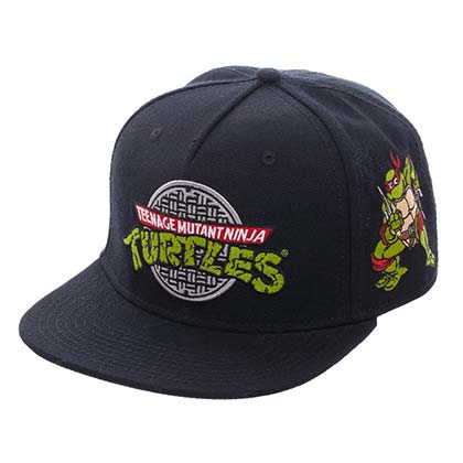 Teenage Mutant Ninja Turtles Flat Bill Sewer Logo Hat
