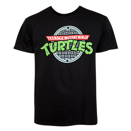 Teenage Mutant Ninja Turtles Sewer Logo Men's T-Shirt