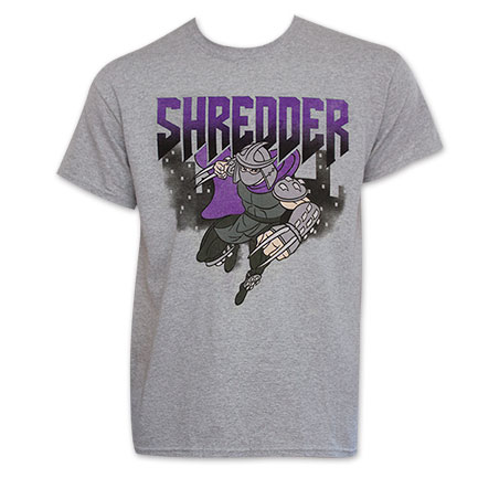 Ninja Turtles Men's Grey Shredder T-Shirt