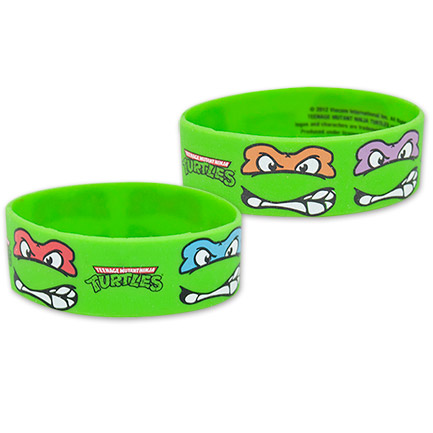 Teenage Mutant Ninja Turtles Faces Wristband