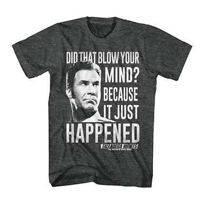 Talladega Nights Just Happened Gray T-Shirt
