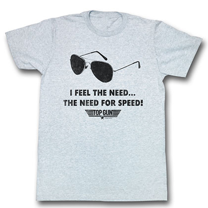 Top Gun Speed Need T-Shirt