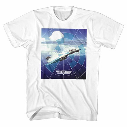 Top Gun Jet White Tee Shirt
