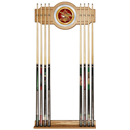 Budweiser Anheuser Busch Pool Cue Rack FREE SHIPPING