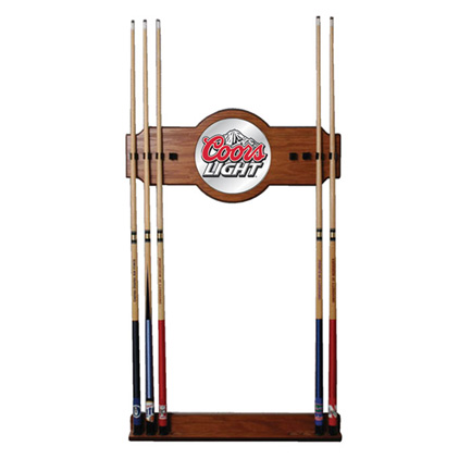 Coors Light Pool Cue Rack (FREE SHIPPING)