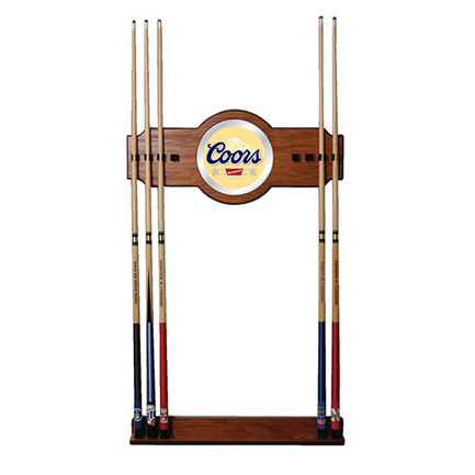 Coors Wooden Pool Cue Rack (FREE SHIPPING)