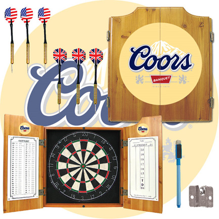 Coors Dart Board Cabinet (FREE SHIPPING)