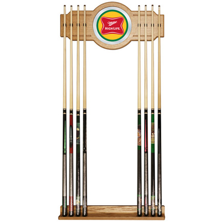 Miller High Life Pool Cue Rack (FREE SHIPPING)