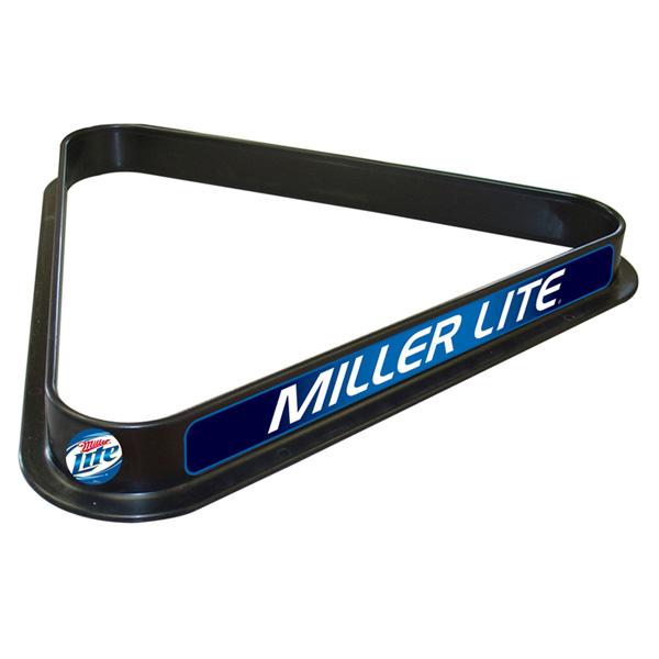 Miller Lite Pool Ball Rack (FREE SHIPPING)