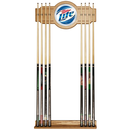 Miller Lite Pool Cue Rack (FREE SHIPPING)