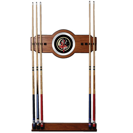 Miller High Life Girl Wooden Pool Cue Rack (FREE SHIPPING)