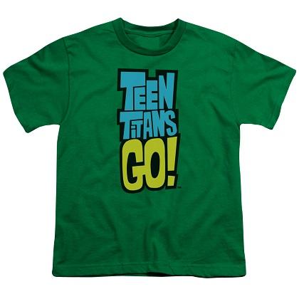 Teen Titans Go! Logo Youth Tshirt