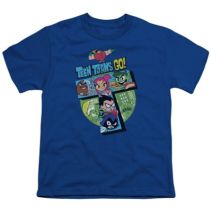 Teen Titans Go! Logo Youth Tshirt