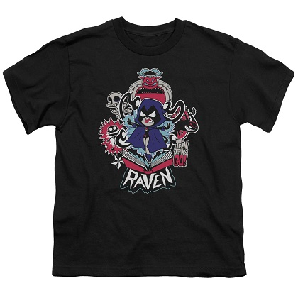 Teen Titans Go! Raven Youth Tshirt