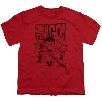 Teen Titans Go! Team Up Youth Tshirt