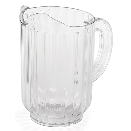 Tablecraft 60 oz. Plastic Beverage Pitcher