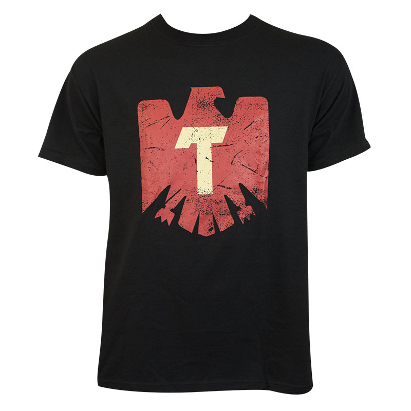 Tecate Men's Black Eagle Logo T-Shirt