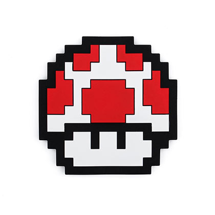 Nintendo Red Mushroom Teether