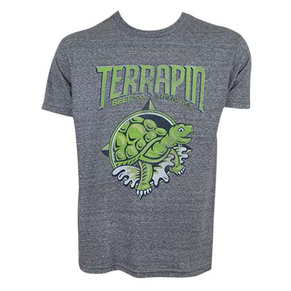 Terrapin Turtle Logo Tee Shirt