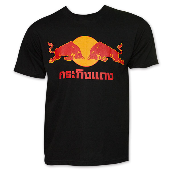 red bull thai logo t shirt. Black Bedroom Furniture Sets. Home Design Ideas