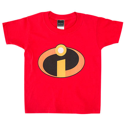 The Incredibles Logo Toddler's Red T-Shirt