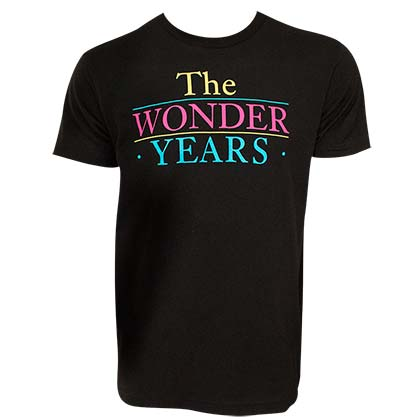 The Wonder Years Logo Men's Black T-Shirt