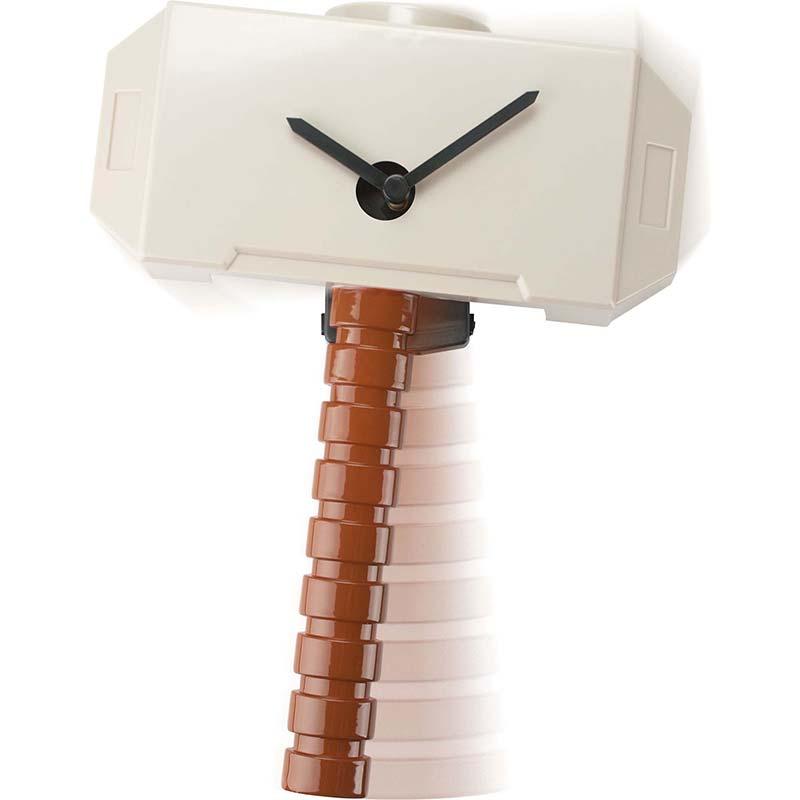 Thor Hammer Wobble Wall Clock