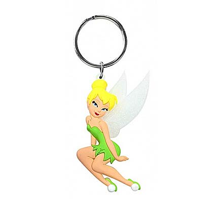 Tinkerbell Soft Touch Keychain