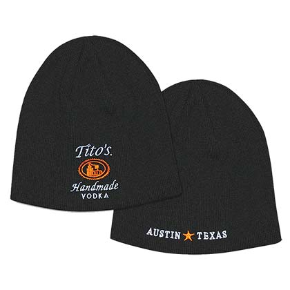 Tito's Vodka Knit Beanie