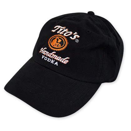 Tito's Men's Black Handmade Vodka Hat