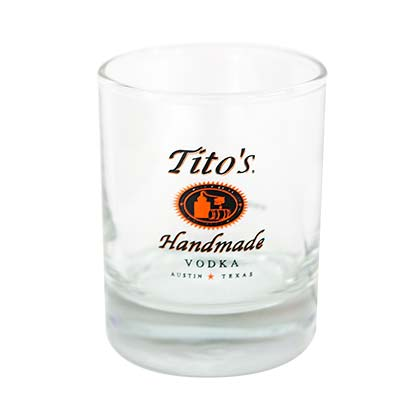 Tito's Vodka Shot Glass