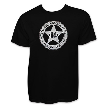 Tito's Handmade Vodka Star Logo T-Shirt