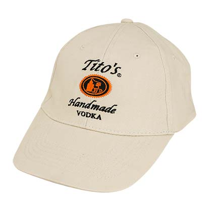 Tito's Vodka Adjustable 6 Panel Hat