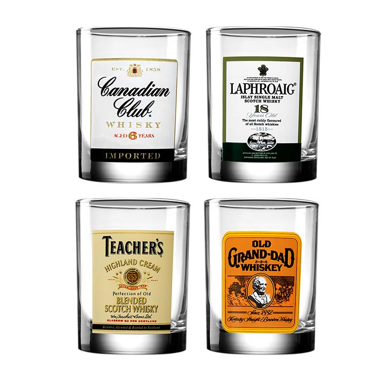 Top Shelf Liquor Glasses