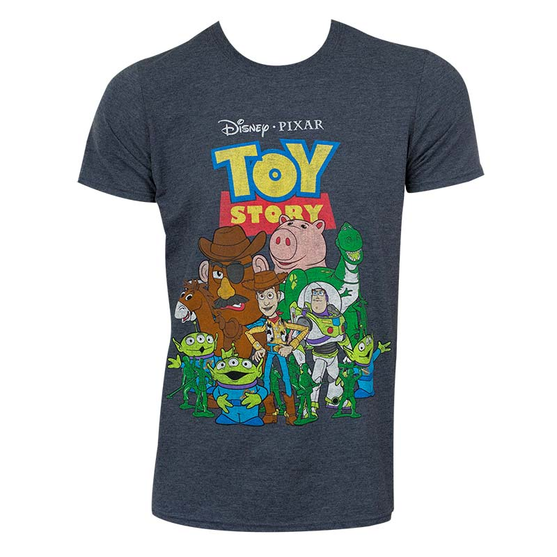 Toys For Tots Logo For T Shirts : Disney toy story grey characters tee shirt