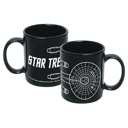 Star Trek Black Enterprise Line Art Mug