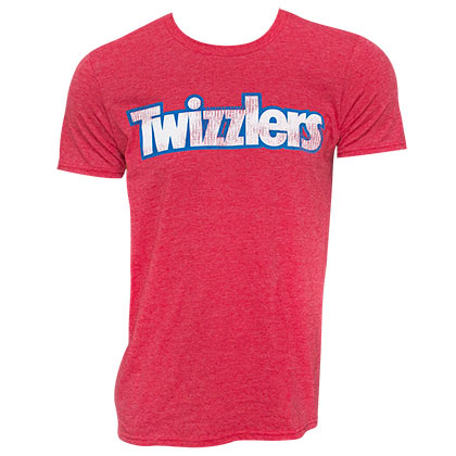 Twizzlers Logo Red Tee Shirt