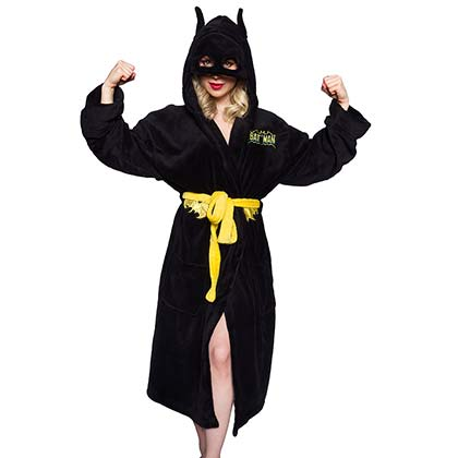 Women's Batman Costume Robe