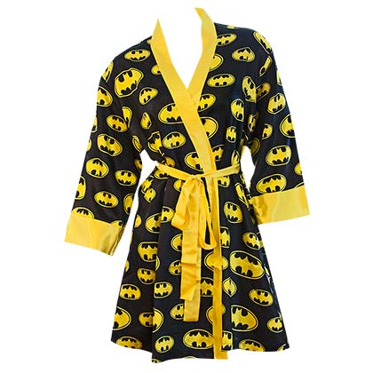 Women's Batman Satin Robe