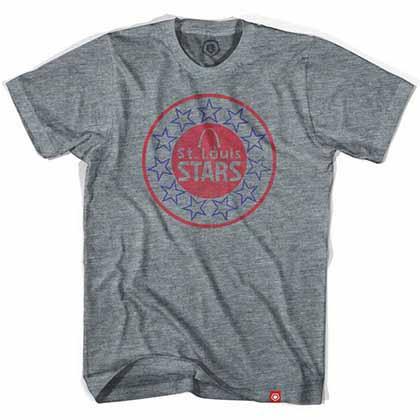 St. Louis Stars Soccer Gray T-Shirt