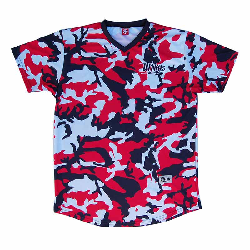 USA Camo Color-way Soccer Jersey