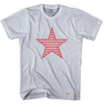 Sparta Star Soccer Gray T-Shirt