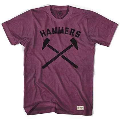 West Ham Hammers Soccer Red T-Shirt