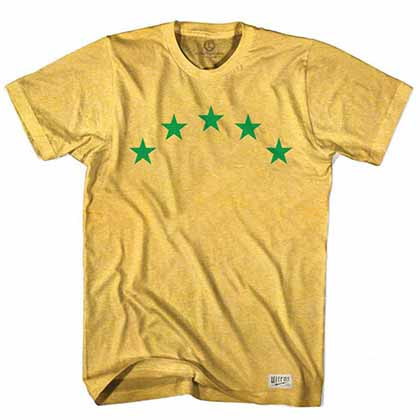 Brazil World Cups Soccer Yellow T-Shirt