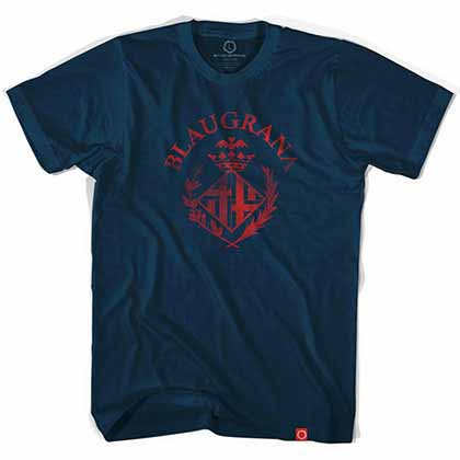 Barcelona Blaugrana Soccer Blue T-Shirt